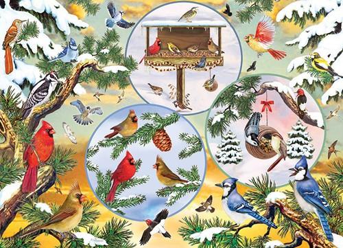 Cobble Hill puzzle 500 Teile - Winterbird Magic