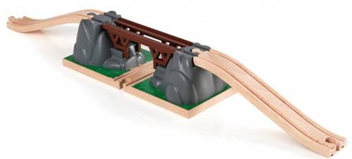 Brio Holz Eisenbahn Zubehör Einsturzbrücke 33391
