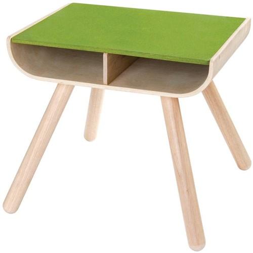 Plan Toys  Holz Kindermöbel Tisch & Stuhl Grün-3