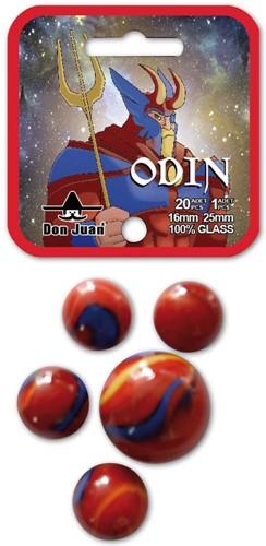 Don Juan knikkers Odin 20x 16mm + 1x 25mm