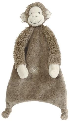 Happy Horse Affe Mickey Erdfarben Schnuffeltuch