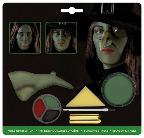Planet Happy  verkleedspullen Make-Up Kit heks