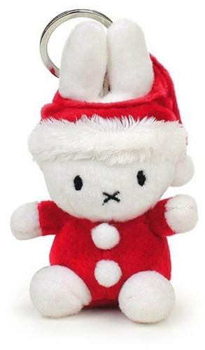 "Miffy Santa keychain - 10 cm - 4"""""