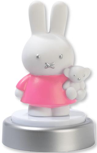 Bambolino Toys 33227 Baby-Nachtlicht Freistehend Pink, Silber, Weiß LED