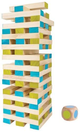 BS Toys Großer Turm mit Würfel