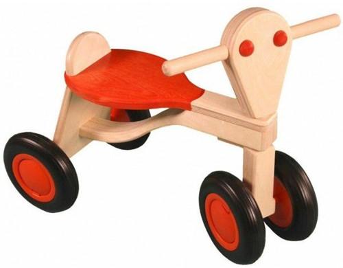 Van Dijk Toys Holz Laufrad Orange - Birke
