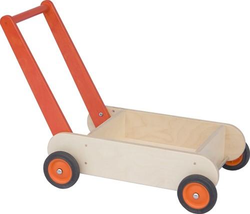 Van Dijk Loopwagen oranje