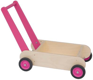 Van Dijk Loopwagen roze