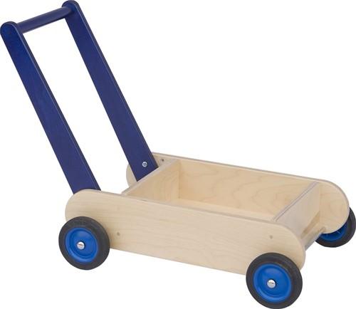 Van Dijk Loopwagen blauw