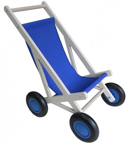 Van Dijk Toys Poppenwagen Blau
