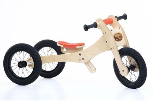 Trybike sattelbezug und kinnschutz orange