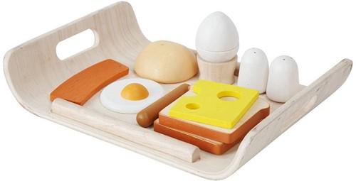 Plan Toys  Holzküche Zubehör Frühstücksmenü
