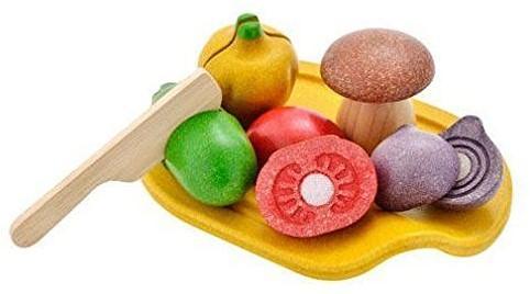 Plan Toys  Holzküche Zubehör Gemüse Sortiment