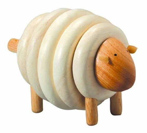 Plan Toys  Holz Stapelfigur Stapelschaf