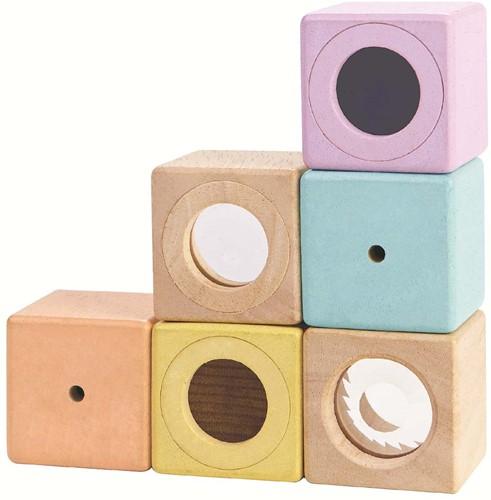 Plan Toys Holz Bausteine Sinne