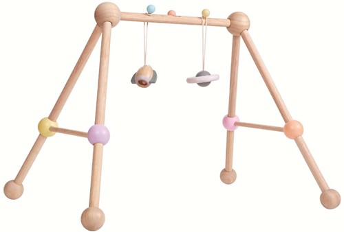 Plan Toys Holz Baby Spieltrainer Pastell 5260