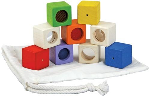 Plan Toys 9 Aktivitätsbausteine