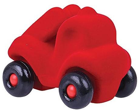 Rubbabu - Kleine brandweerauto rood