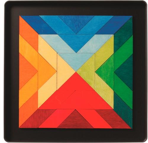 Grimm's - Magnetspiel Quadrat Indian