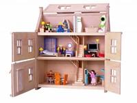 Plan Toys  Holz Puppenhaus Viktorianisches Puppenhaus-2