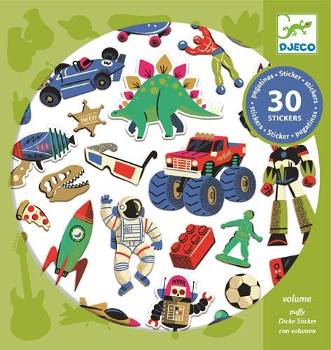 Djeco Stickers Rétro toys