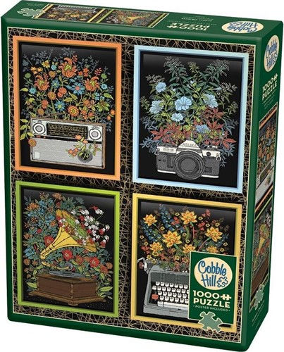 Cobble Hill puzzle 1000 Teile - Floral Objects