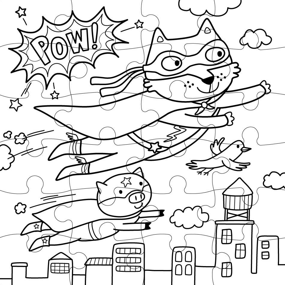 Atemberaubend Superheld Malbücher Fotos - Druckbare Malvorlagen ...