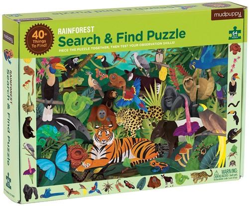 Mudpuppy 5196 Puzzle Puzzlespiel 64 Stück(e)