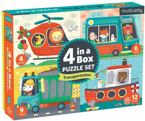 Mudpuppy 4 in a  Box/Transportation