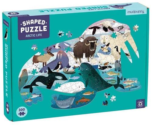 Mudpuppy 300 PC Shaped Puzzle/Arctic Life