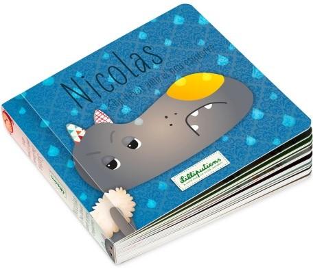 Lilliputiens Omkeerbaar boek Nicolas stapt met het verkeerde been uit bed (NL)