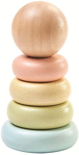 Plan Toys Holz Stapelfigur Pastell