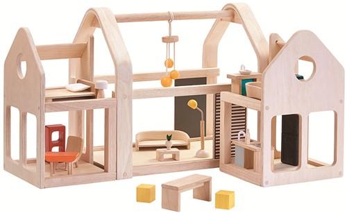 Plan Toys Mitnehm-Puppenhaus