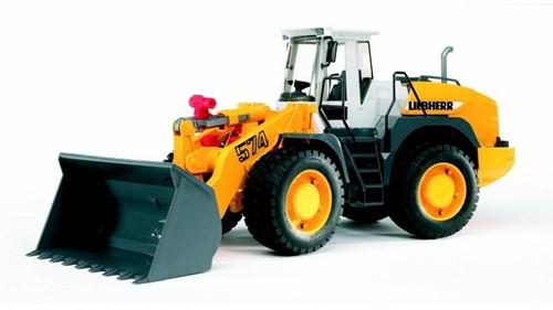 Bruder Liebherr Articulated road loader L574 - 2430