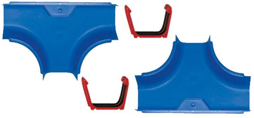 Aquaplay Wasserbahn 2 T-Stücke und 3 Kupplungen 103