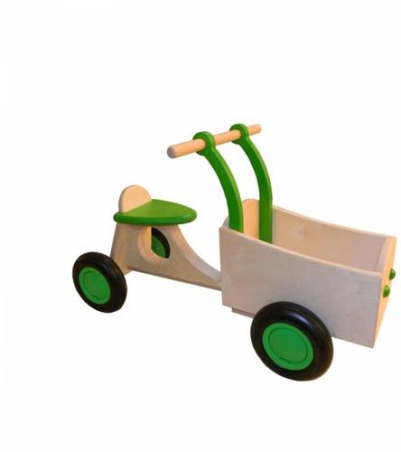 Van Dijk Toys Holz Lieferrad Limettengrün