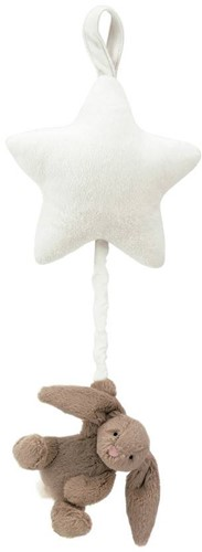 Jellycat  Bashful Spieluhr Hase Beige - 28 cm