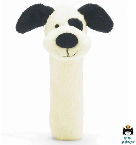 Jellycat  rammelaar Puppy squaker toy - 14 cm