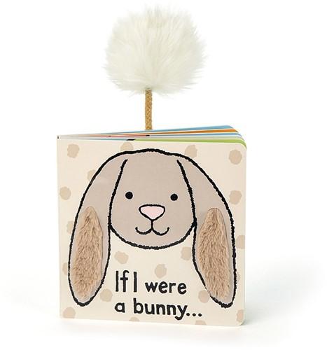 Jellycat If I were a Bunny Pappbilderbuch (Beige) - 15cm
