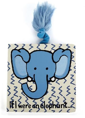 Jellycat If I Were an Elephant Pappbilderbuch - 15cm