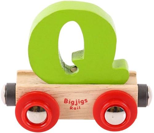 Bigjigs Rail Name Letter Q