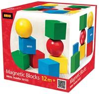 Brio Magnetische Holzbausteine 30123-2
