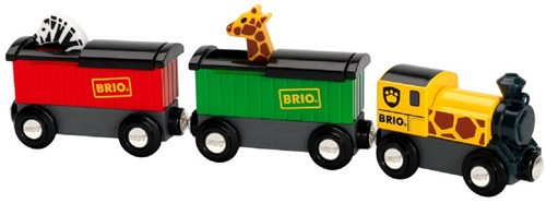 Brio Holz Eisenbahn Safari-Zug 33722