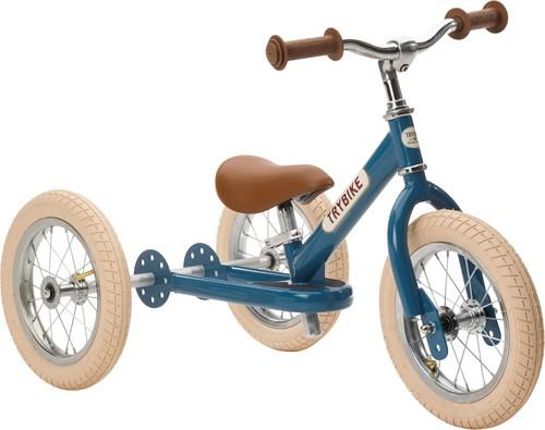 Trybike Laufrad 2-in-1 Steel - Vintage Blau