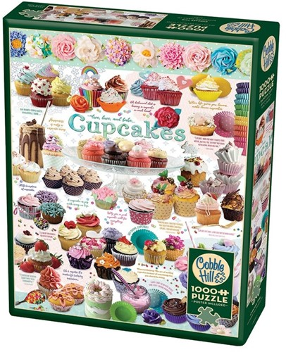 Cobble Hill puzzle 1000 Teile - Cupcake Time