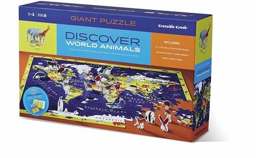 Crocodile Creek Discover Puzzle/World