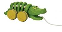 Plan Toys  Holz Ziehfigur Tanzendes Krokodil