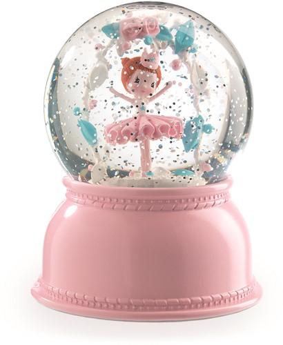 Djeco Veilleuses boule à neige Ballerine
