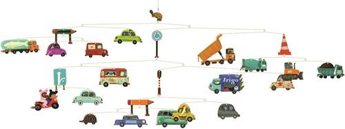 Djeco babymobiel Traffic