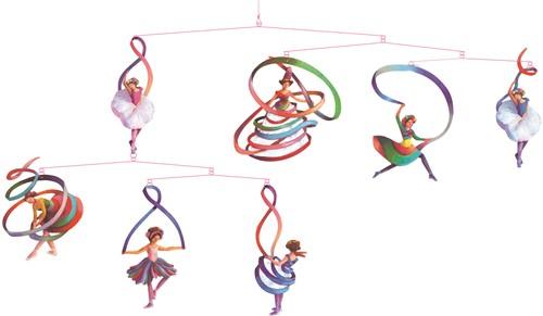 Djeco Mobiles papier Danseuses - FSC MIX
